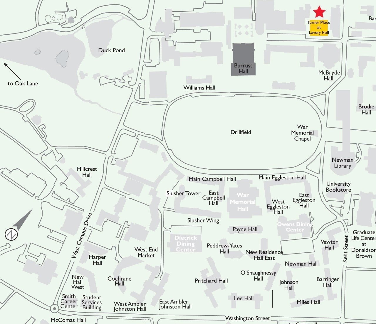 Del Tech Owens Campus Map.Turner Place At Lavery Hall Dining Services Virginia Tech